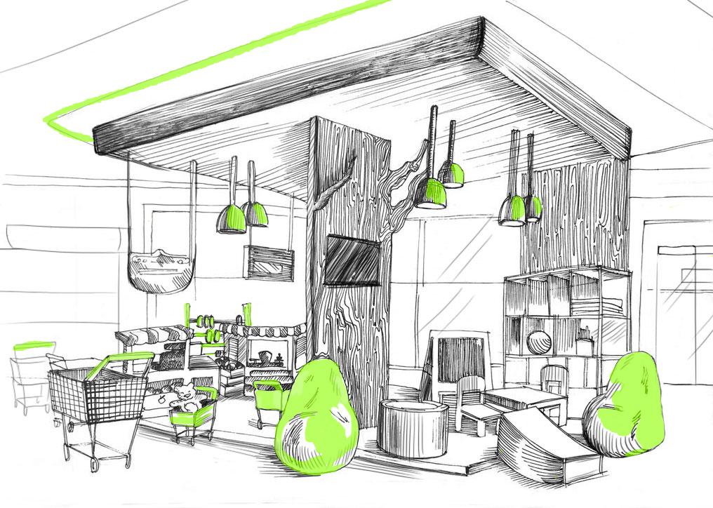 Рождение Food Story. История создания концепции новой сети магазинов для ВкусВилл